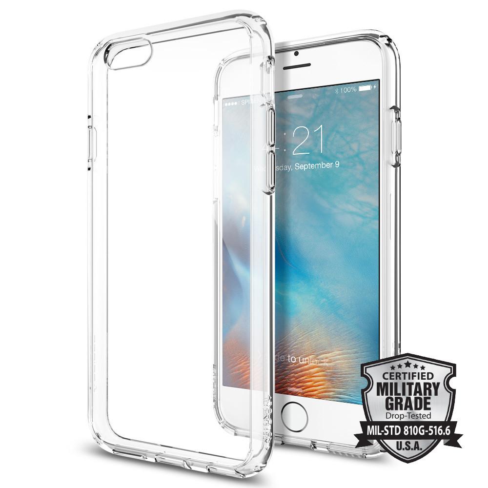 Spigen iPhone 6 - 6S Case Ultra Hybrid Casing - Crystal Clear Trans