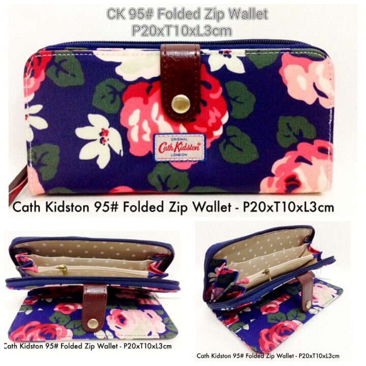 DISCOUNT DOMPET CATH KIDSTON 95 #FOLDED Zip wallet TERMURAH