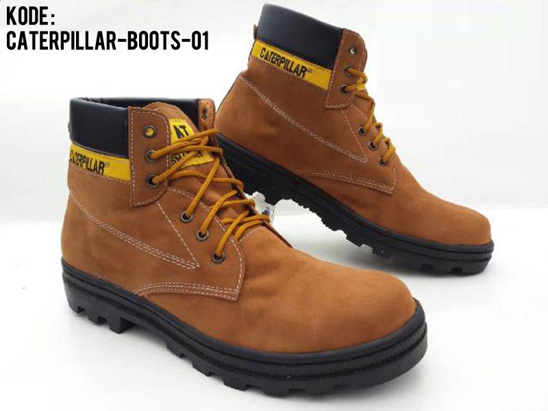 Jual TERLARIS Sepatu Proyek Caterpillar Boots Safety