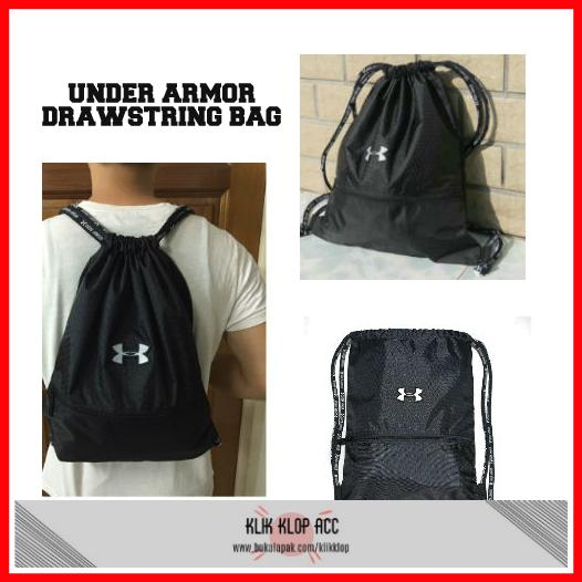 Jual [ New ] Backpack Under Armour Drawstring Bag /Tas Olahraga ...