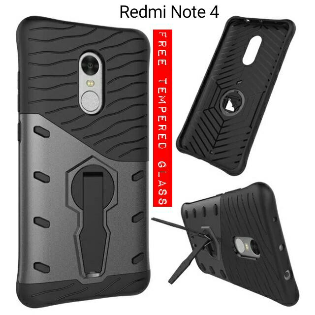 ... FREE TEMPERED GLASS COLOR. Source · Jual PAKET 2 IN 1 CASING Xiaomi Redmi Note 4 Note4 Back Case Murah - JIBAN