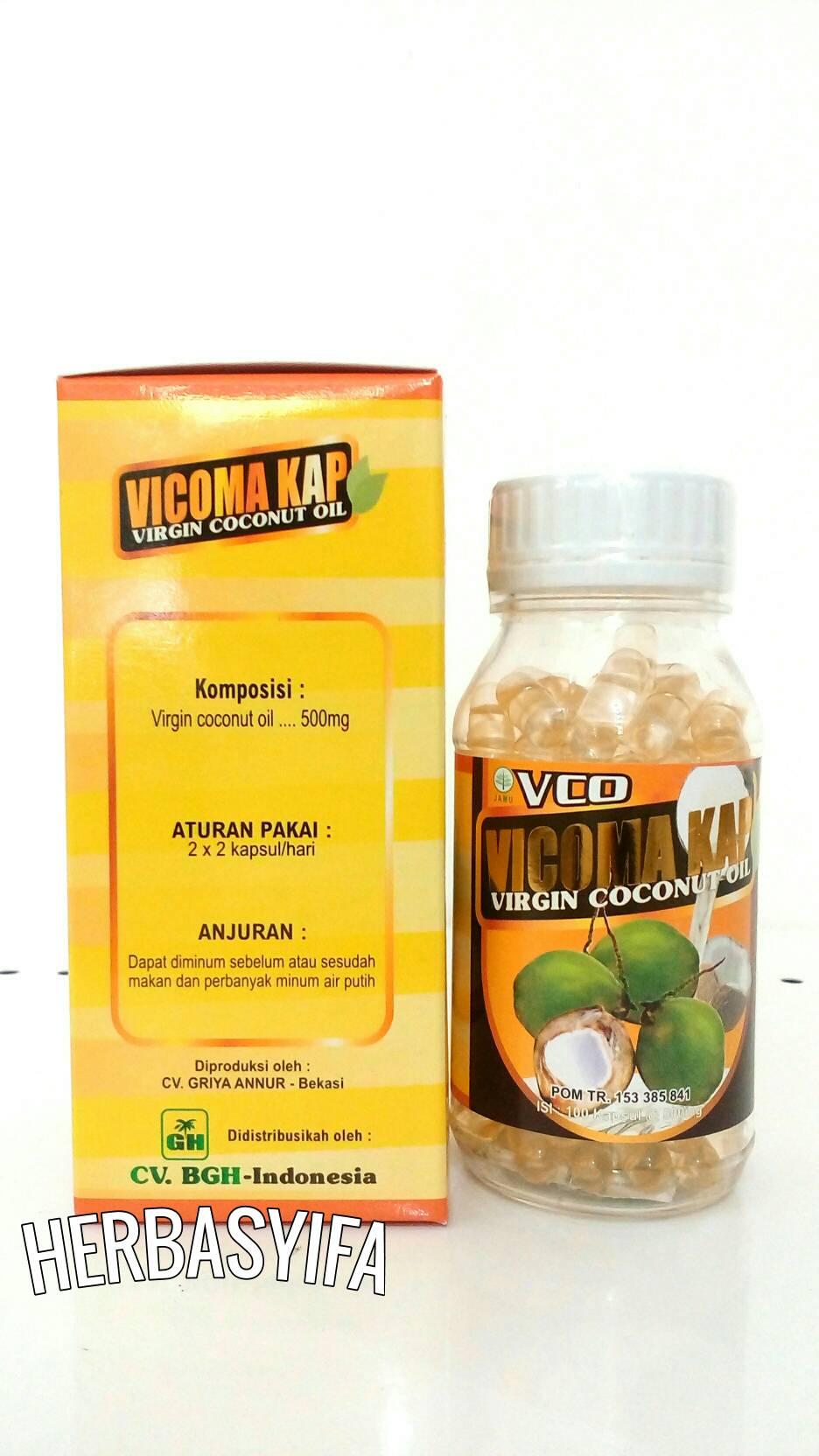 Tazakka Vicoma Virgin Coconut Oil Vco Minyak Kelapa Murni 120ml Kapsul Eza Source Jual Kap 100 Herbasyifa