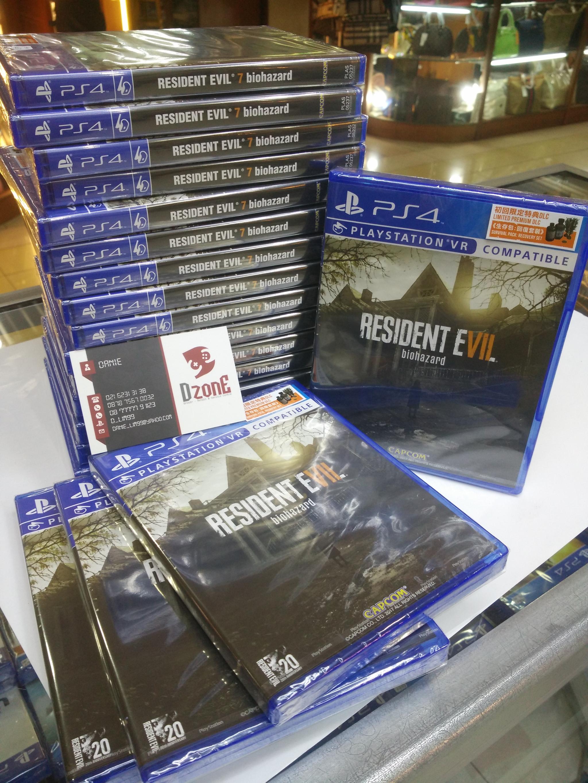 Jual Resident Evil 7 Reg 3 D Zone Games Tokopedia Ps4resident