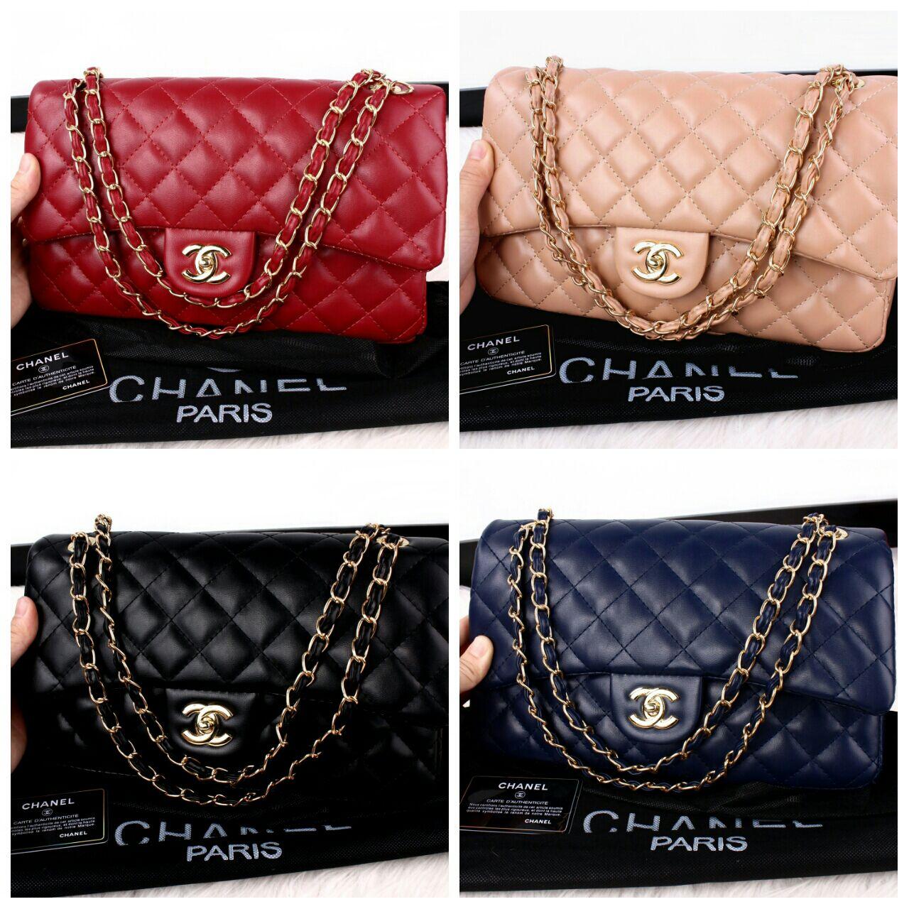 Jual Tas Chanel Maxi Yuni Sara Flap Bag (Goldhware) 5011 - DMD ... 0fce3b2737