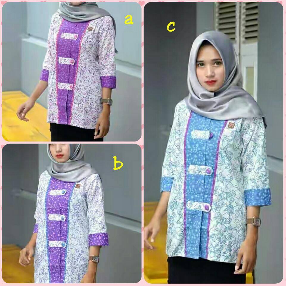 Baju Batik   Atasan Batik Wanita   Baju Kerja Batik   Seragam Batik