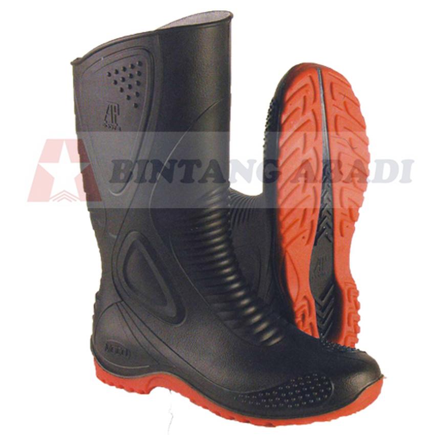 Jual Ap Boots Moto 1 Sepatu Boot Biker Karet Merah Hitam Tinggi 1 2 ... 6ea2b4ecbe