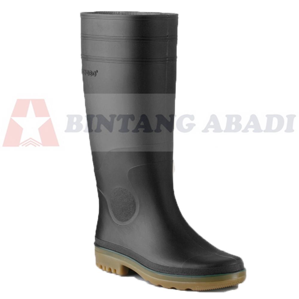 Toyobo Boots 8808 - Sepatu Boot Kerja Karet Hitam Tinggi Panjang