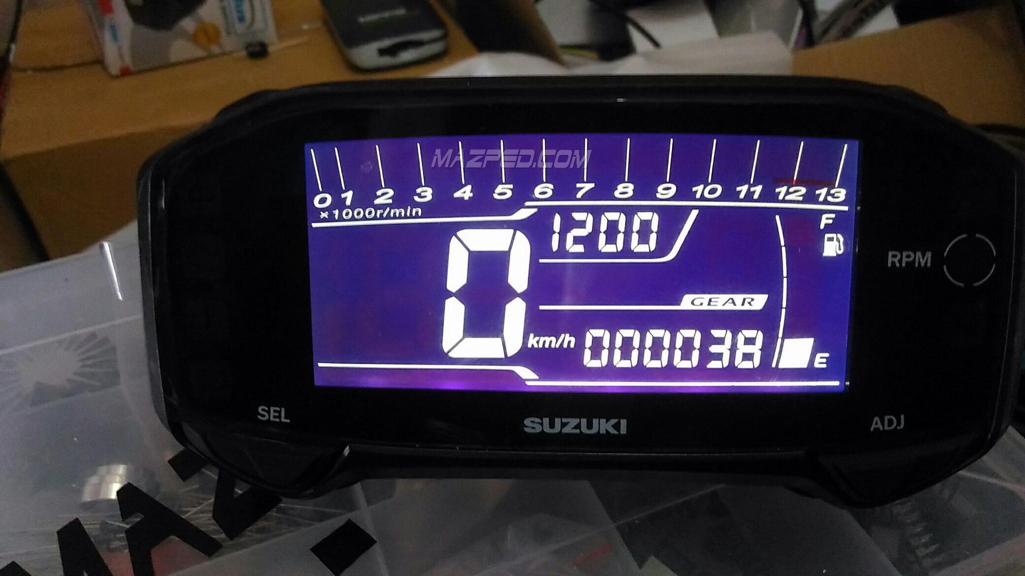 Kumpulan 94 Modifikasi Speedometer Satria Fu 150 Terkeren