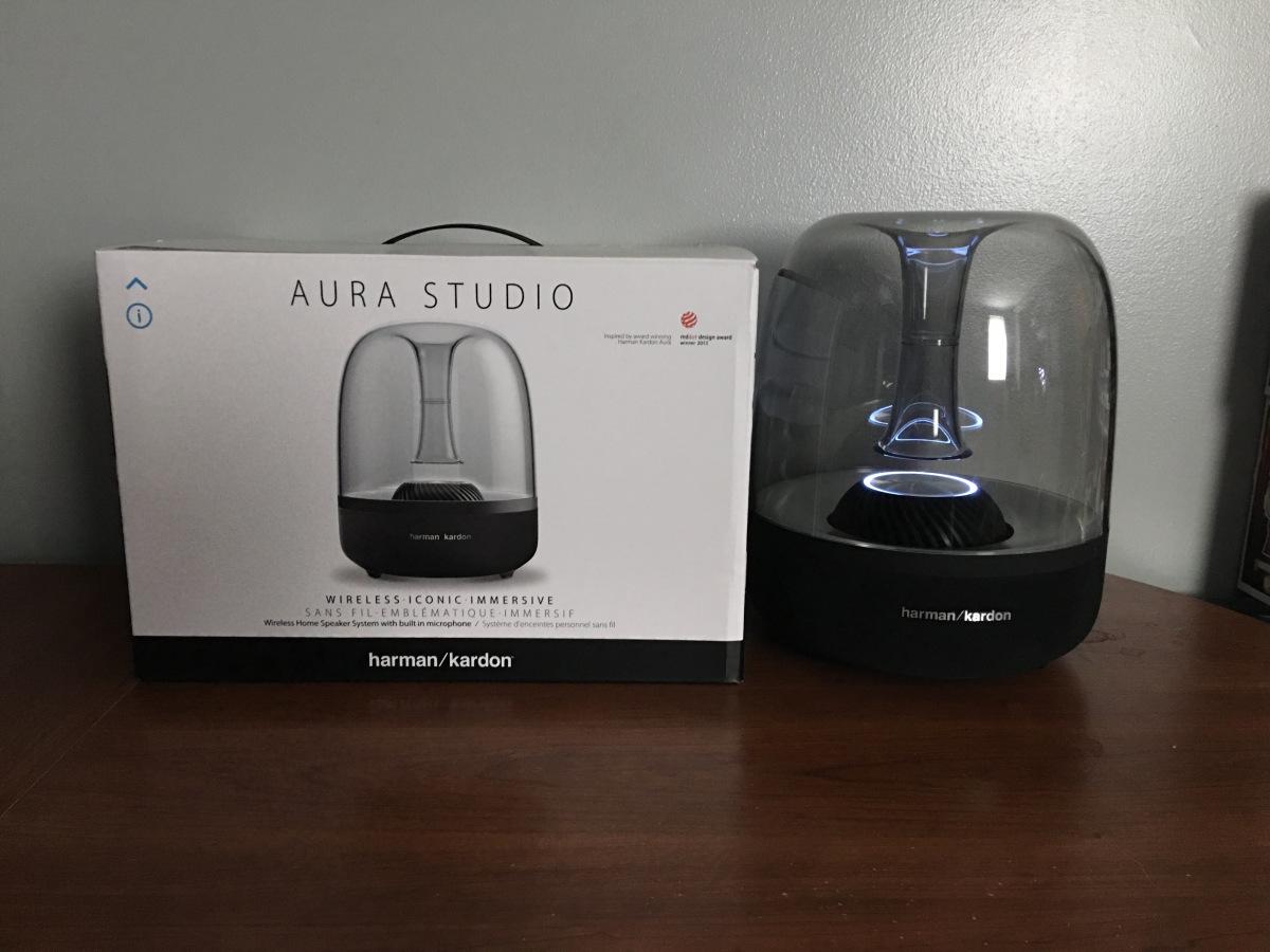 harman kardon aura speaker. ulasan produk harman kardon aura studio wireless bluetooth stereo speaker original - ingadget | tokopedia b