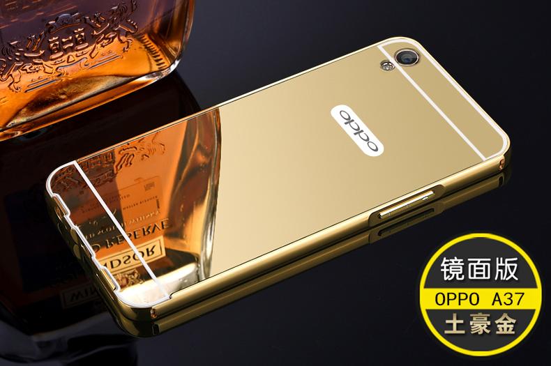 Jual Bumper Mirror Case Oppo Neo 9 / A37 - Modal Nekad Gadget | Tokopedia