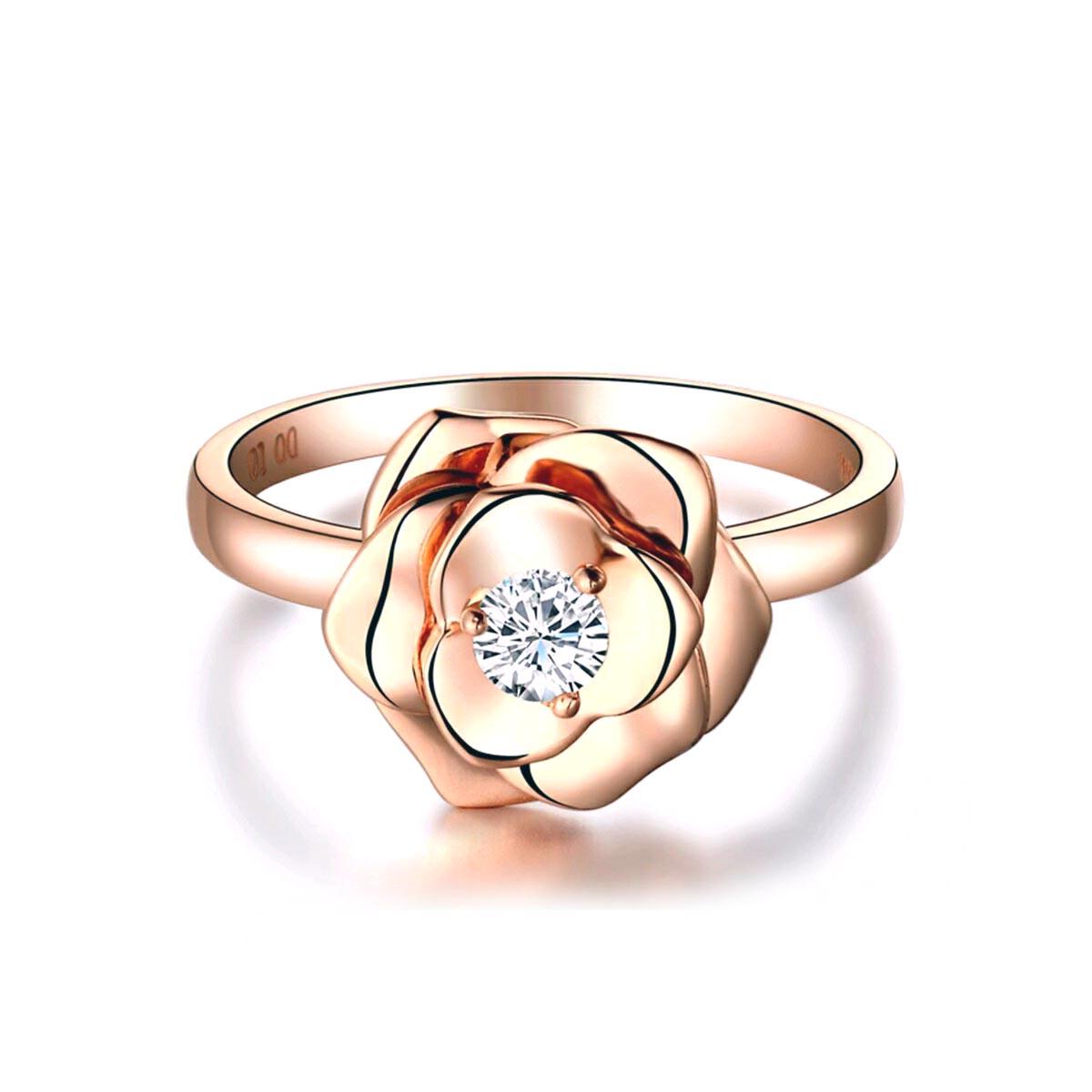 Jual Rose Diamond Ring