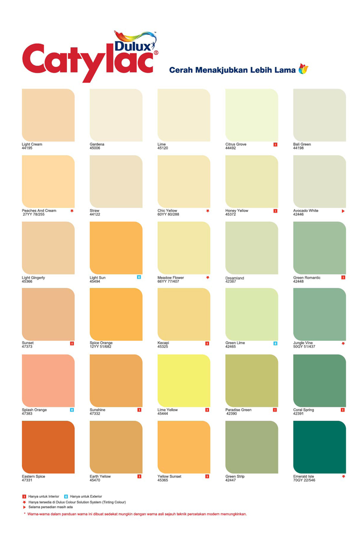 Warna Cat Dulux Exterior