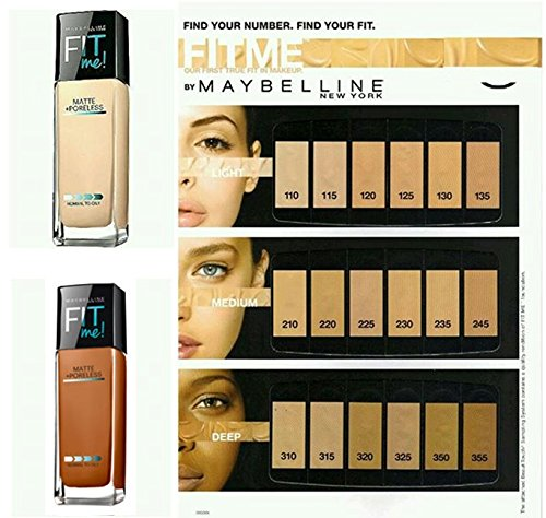 Maybelline New York Fit Me Matte And Poreless Liquid