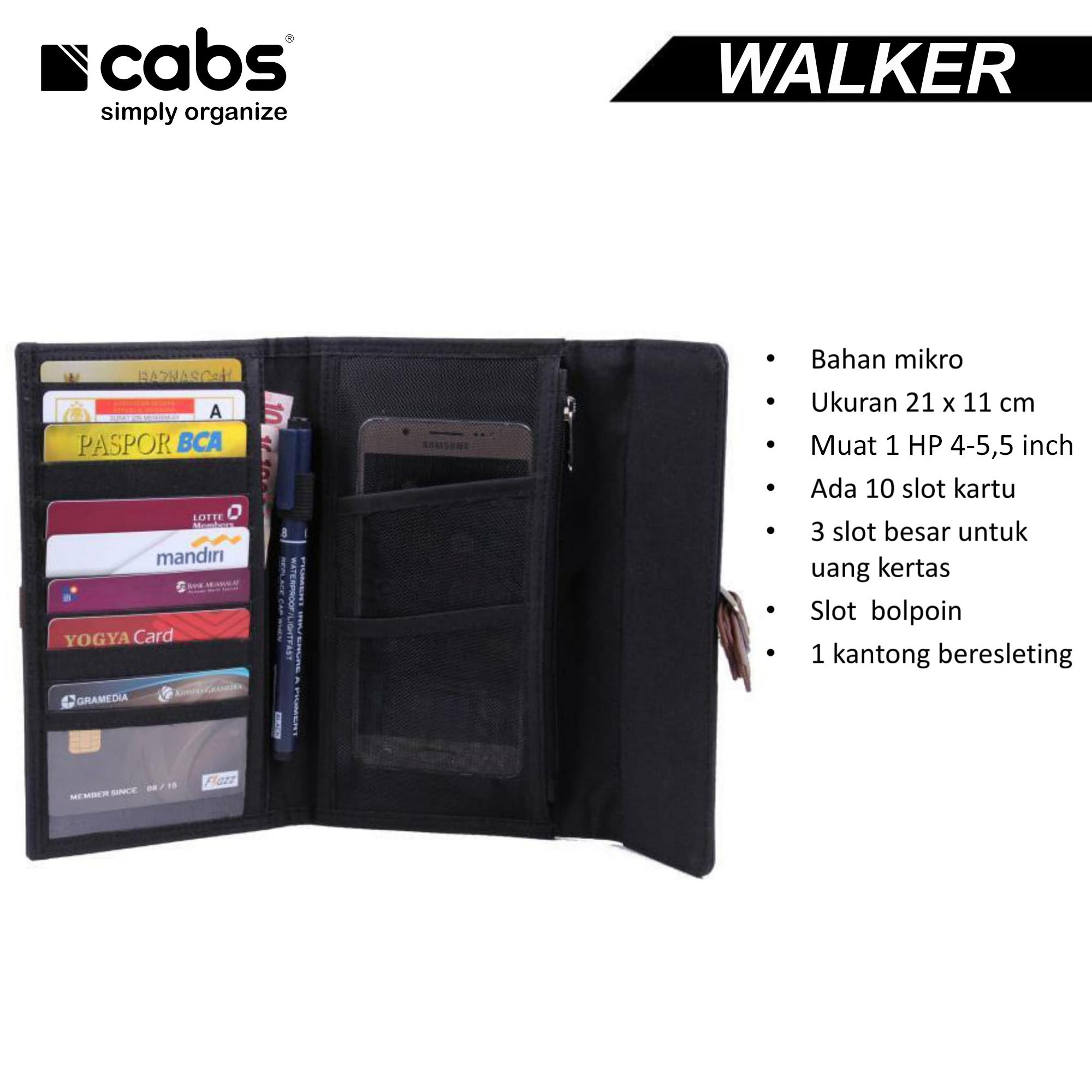 ... Cabs Pocket Walker Dompet Pria   Wanita Hpo Lokal Organizer Unik Murah  Serbaguna Dompet Kartu Anti ... c87cf8a6de