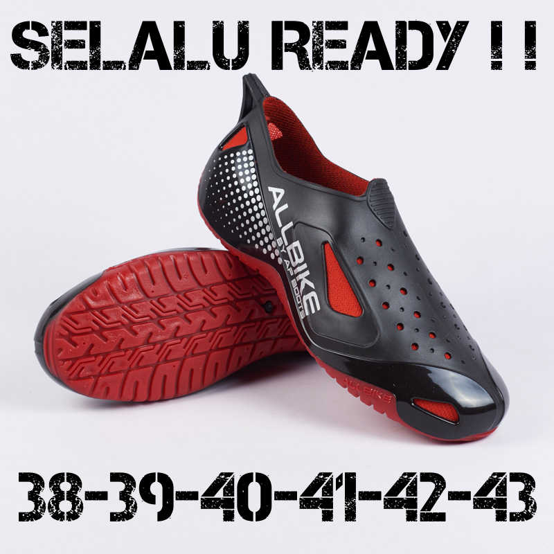 Jual Ap Boots All Bike Merah Sepatu Sepeda Motor Gowes