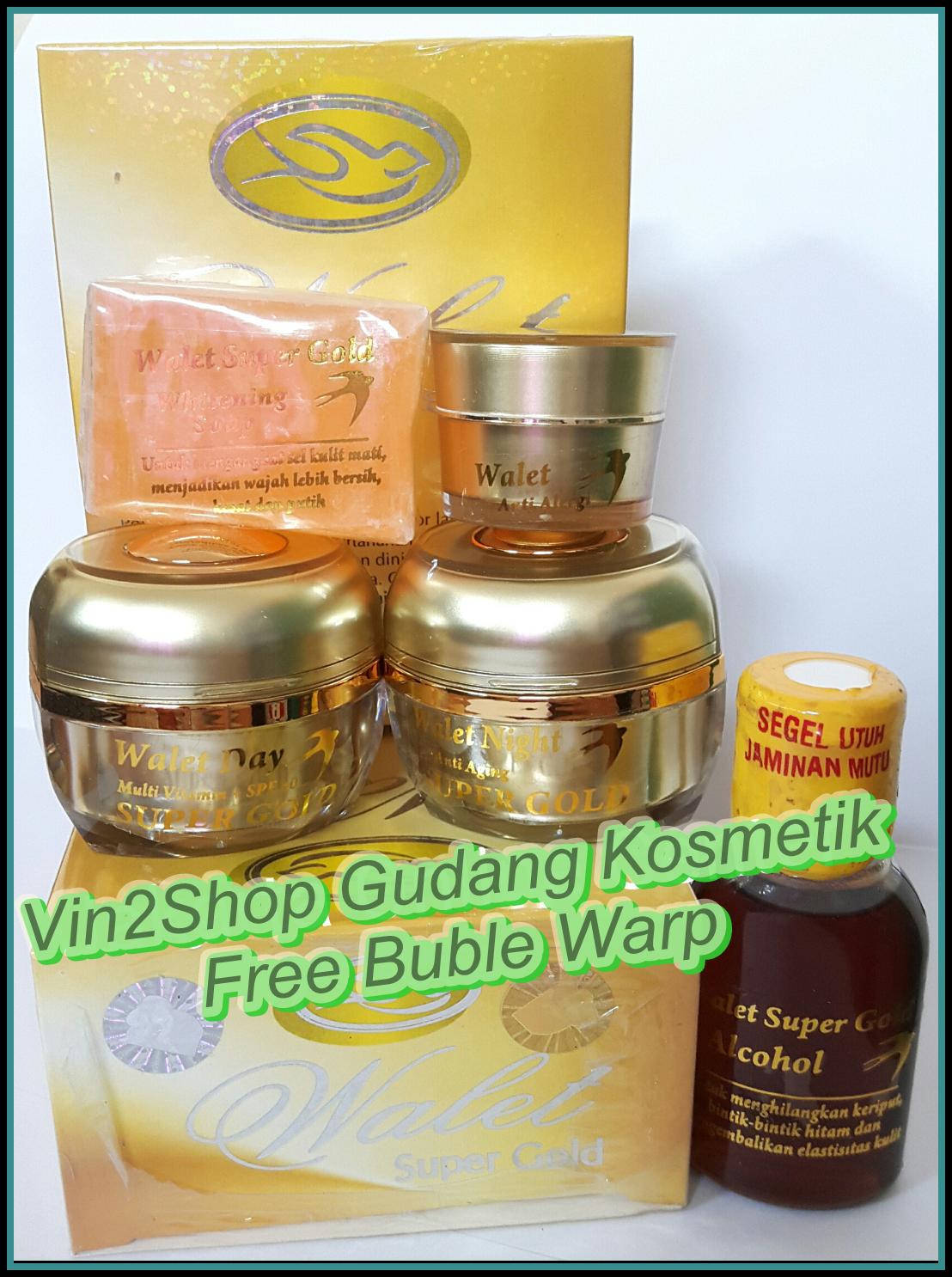 Walet Super Gold Premium Series Komplit Dan Eksklusif Cream Wallet Jual