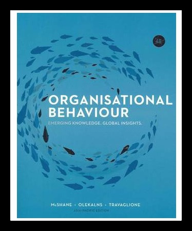 Organisational Behaviour : Emerging Knowledge, Global Insights 4th