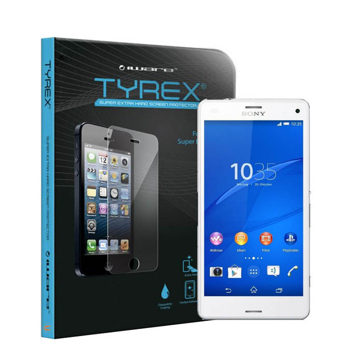 Tyrex Sony Xperia Z3 Compact Tempered Glass Antigores Kaca