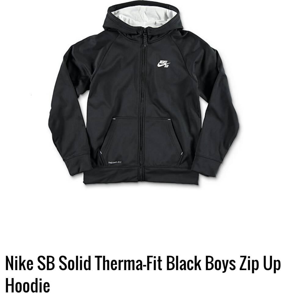 Jual Jaket Nike Anak Boys Sb Therma Fit Hoodie Full Zip Sweater Zipper Laki Original Fiya Babas Collection Tokopedia