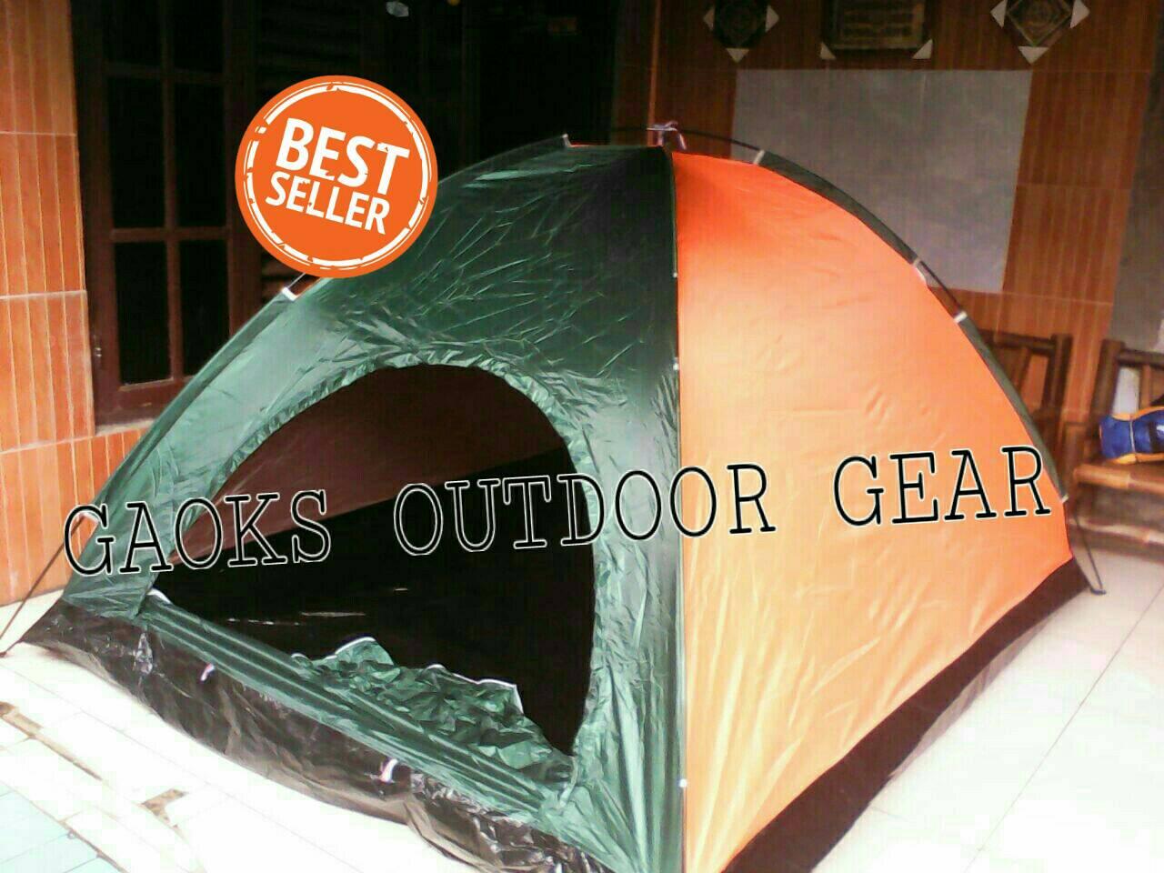Jual Tenda Dome Hyu Kapasitas 6 7 Orang Single Layer Gaoks Outdoor Gear Tokopedia