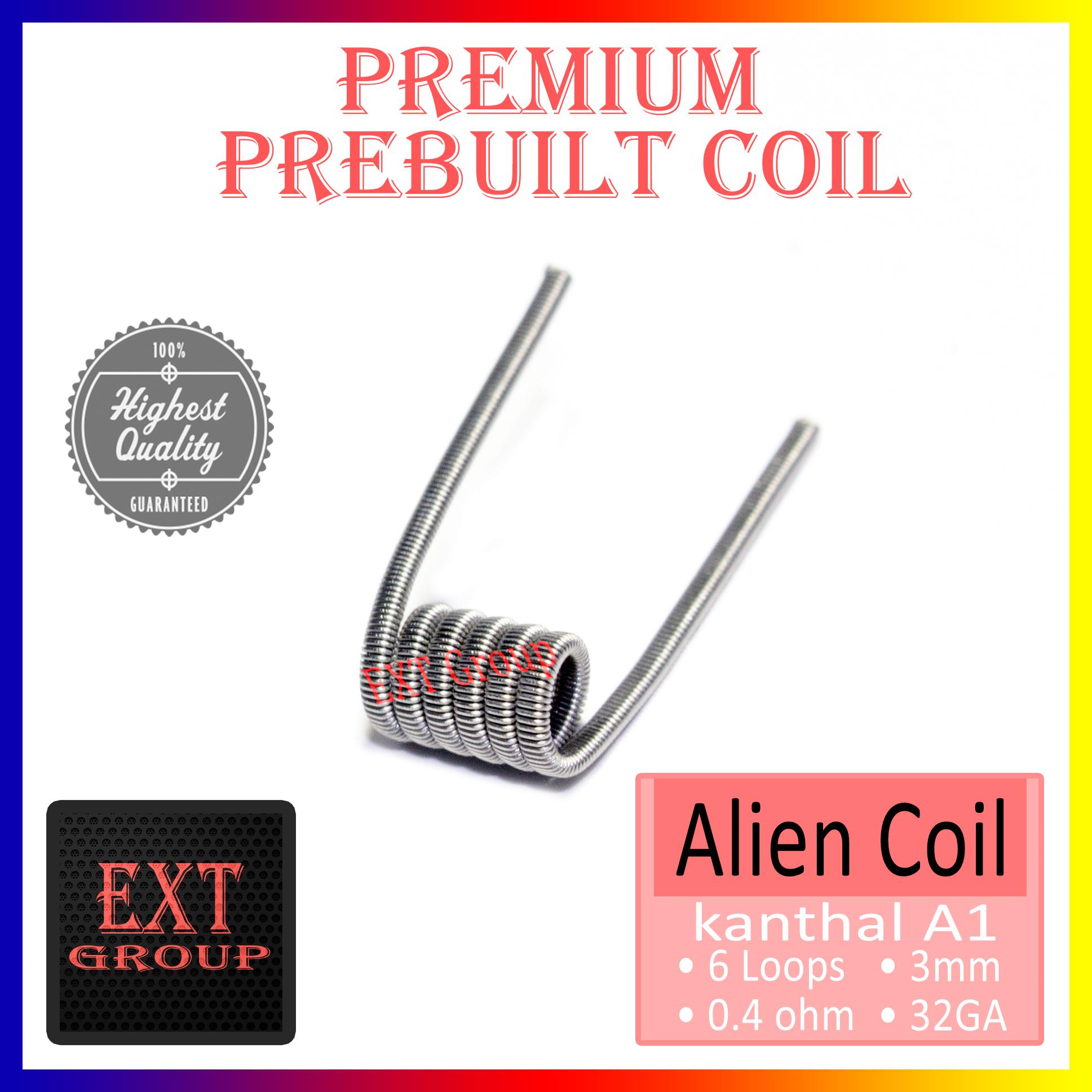 Jual Alien Coil Kanthal A1 Wire | Kawat Coil Vapor Vape untuk RDA ...