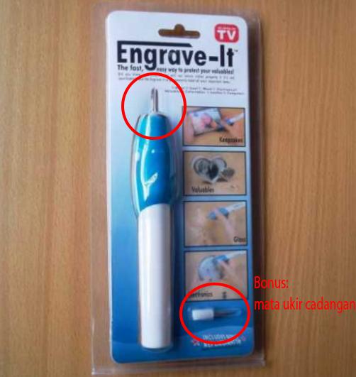 Engrave It / Pena Ukir / Pen Grafir / Pena Grafir / Alat Ukir