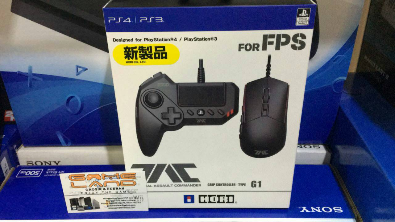 Jual Hori Tac Grip Controller Type G1 For Ps4 3 Gameland Tokopedia Tactical Assault Commander