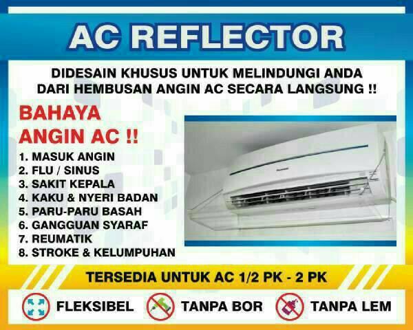 Acrylic Ac / Penahan angin ac / Ac reflector 110cm
