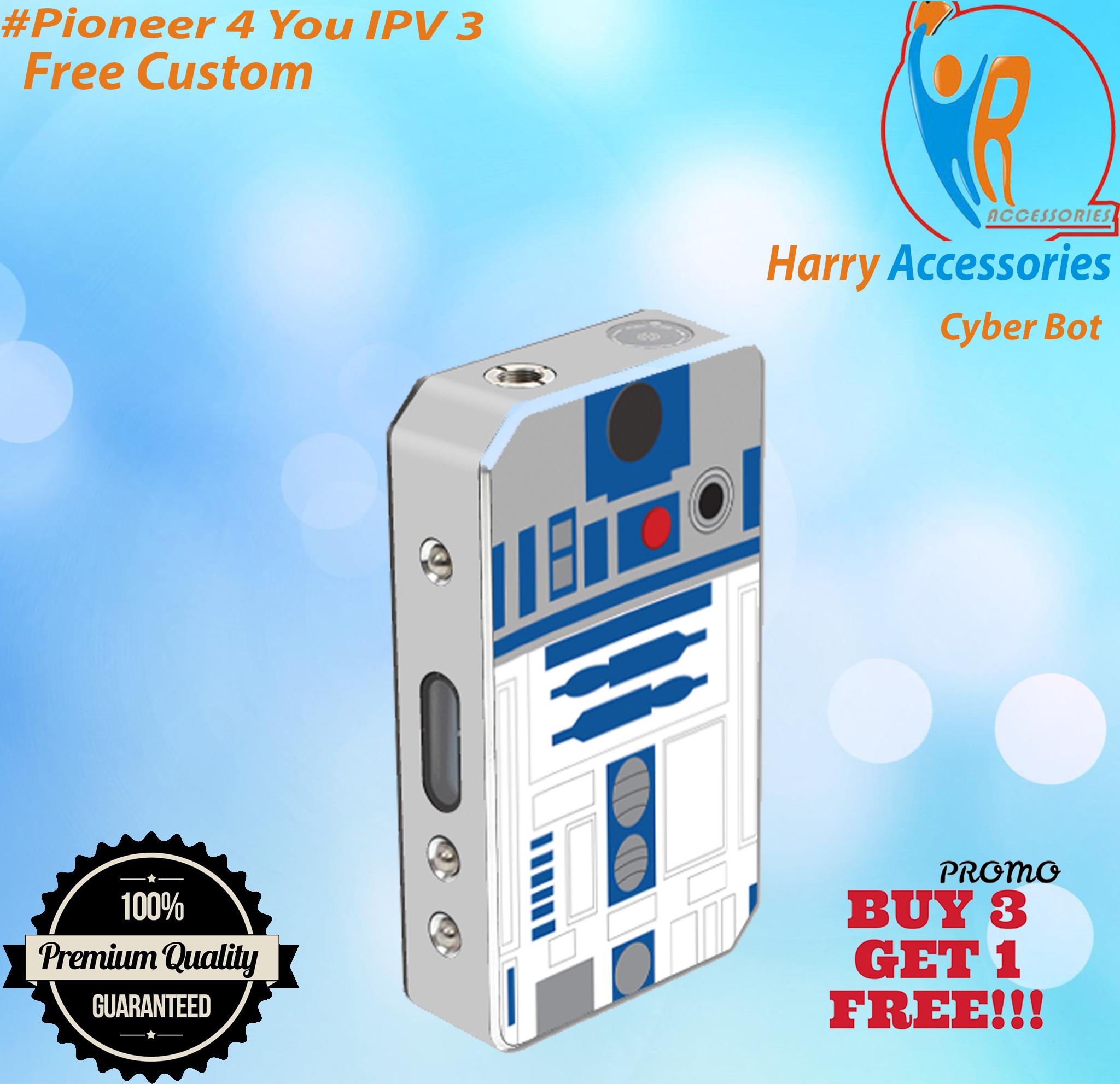 Jual [Promo] Garskin Mod Vapor Pioneer 4 You IPV 3 -Cyber