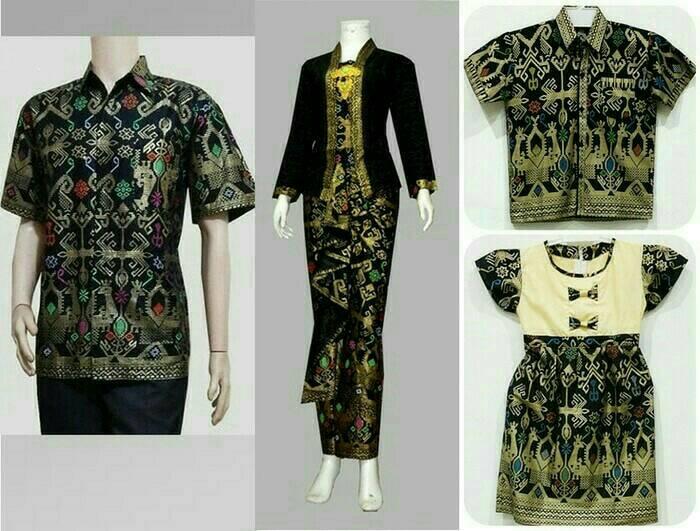 Harga Baju Batik Couple Sarimbit Gamis Model Melisa