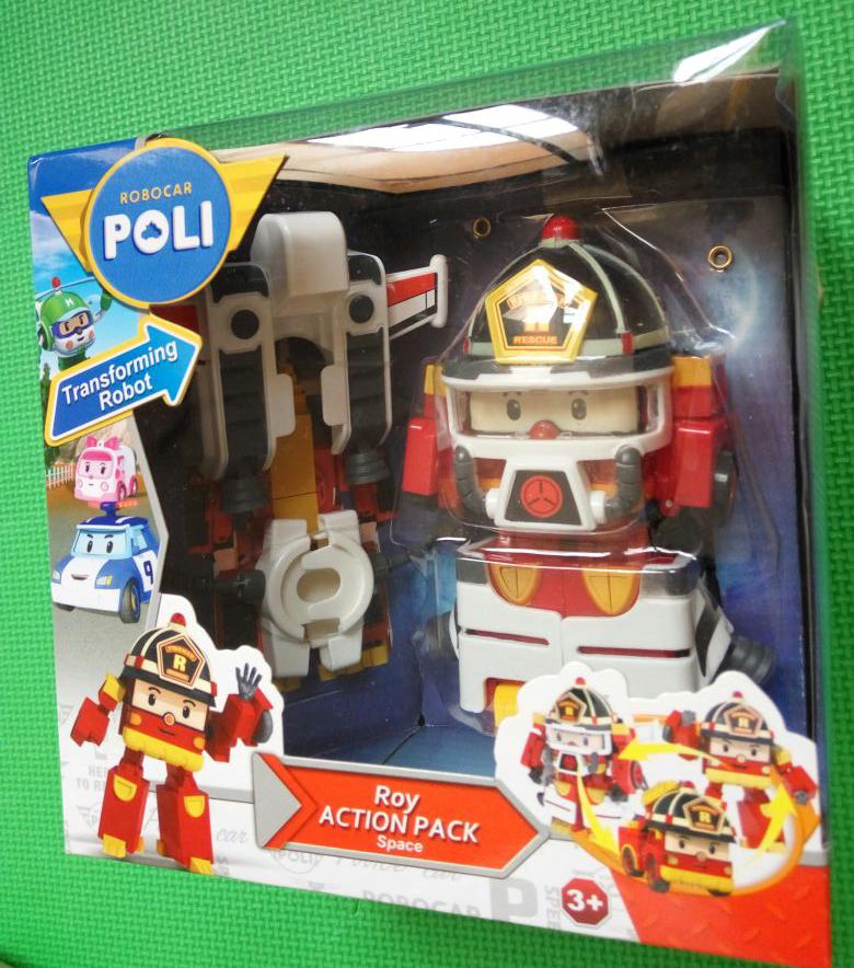 Jual Mainan Anak Laki Terbaru Robocar Poli Space Fireman, Kado Mainan Anak - Mainan Robocar