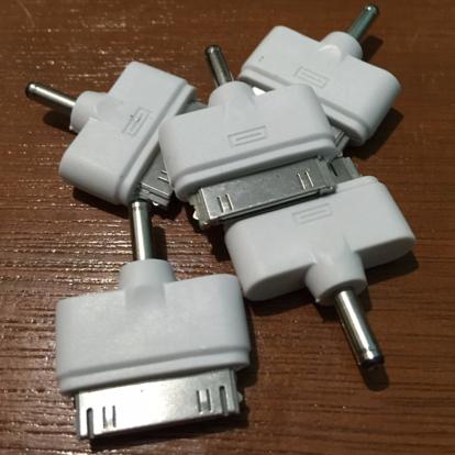 Conector Kabel Powerbank Untuk Handphone Iphone 4 / Konektor Apple 4