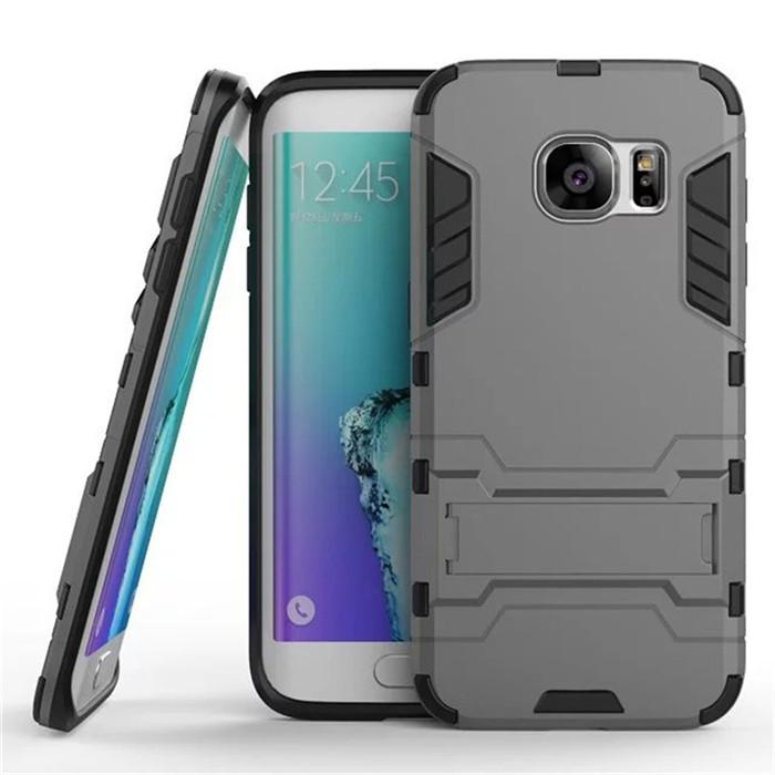 Samsung Galaxy S7 Flat Premium Knock Slim Hybrid Armor Case