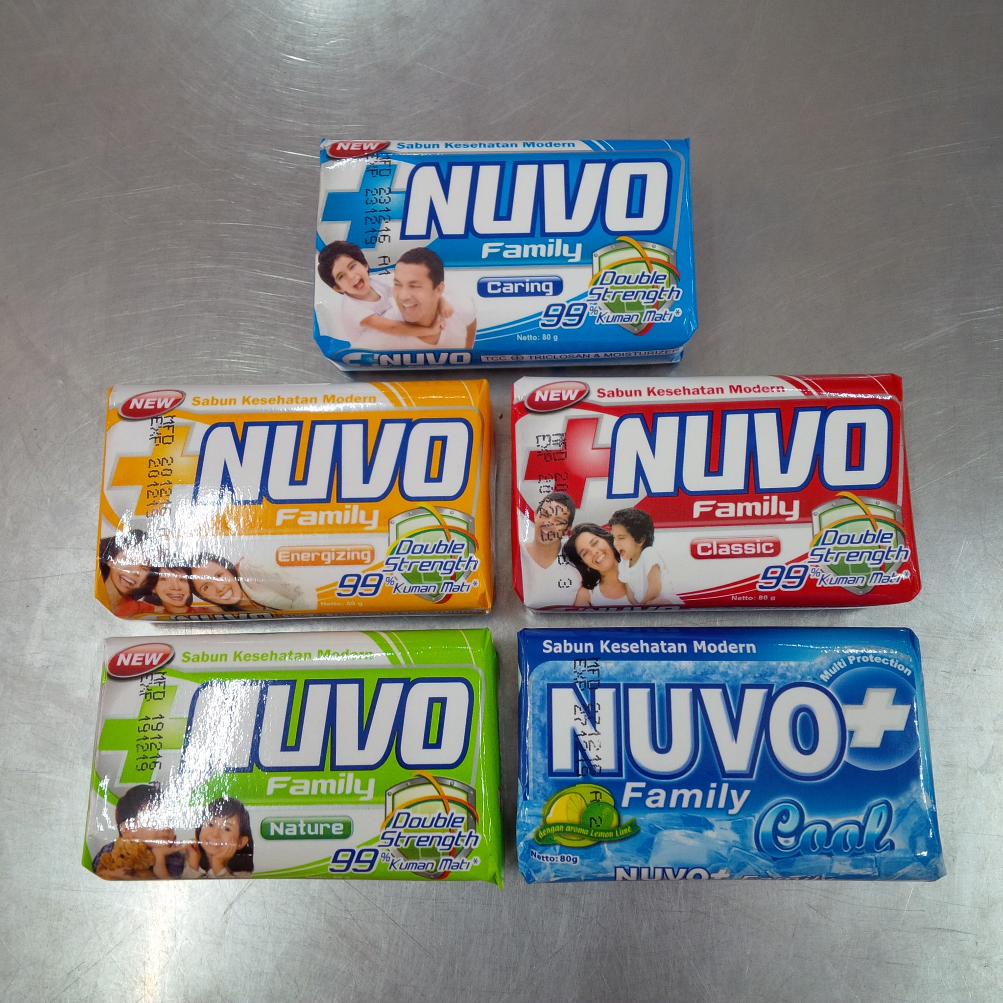 Jual Nuvo 80gr Sabun Mandi Batang Thio Online Store Tokopedia Hijau
