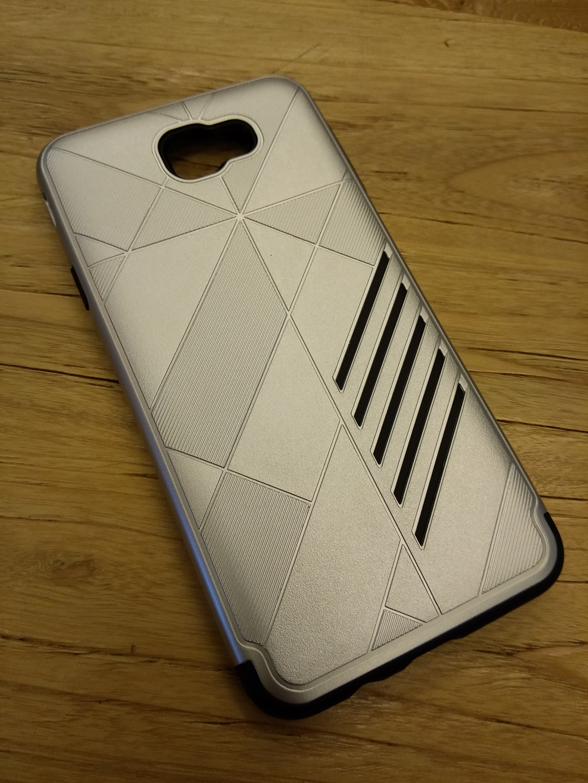 Samsung Galaxy J5 Prime Shark Stripe Elegant Dual Layer Armor Case
