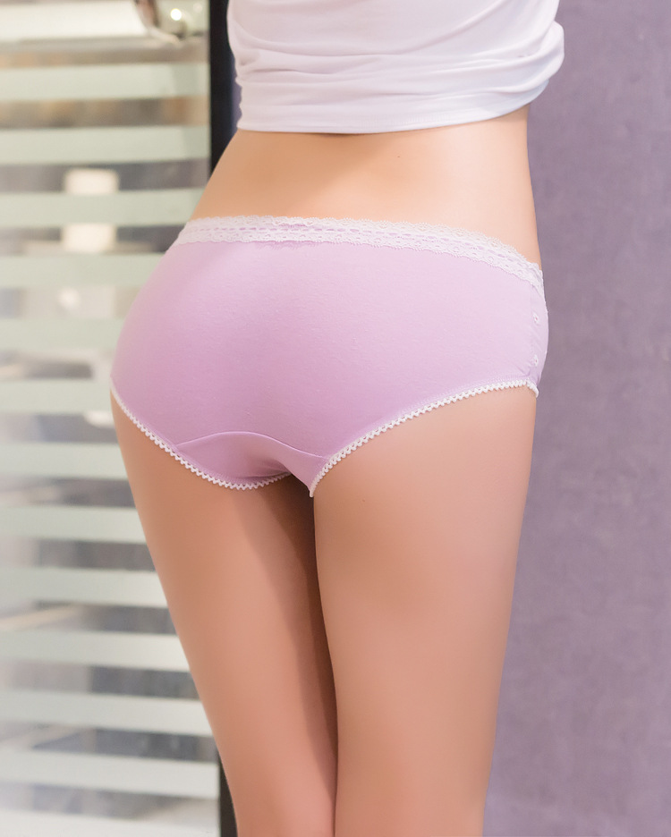 Hasil gambar untuk celana dalam bahan katun yang dipakai wanita