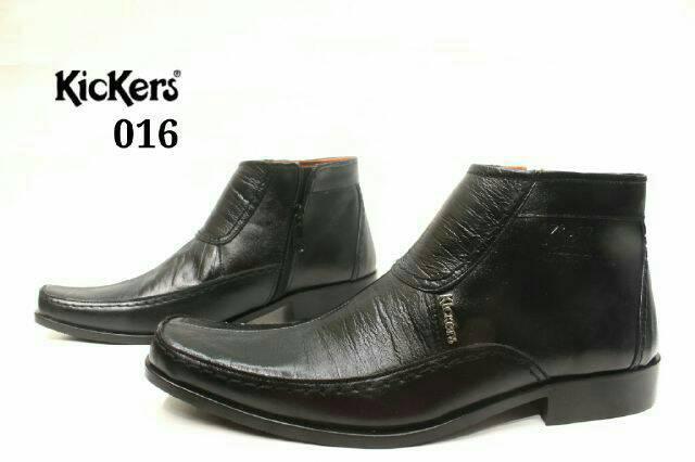 sepatu pantofel kulit kickers #kerja#kuliah#formil#resmi#pria