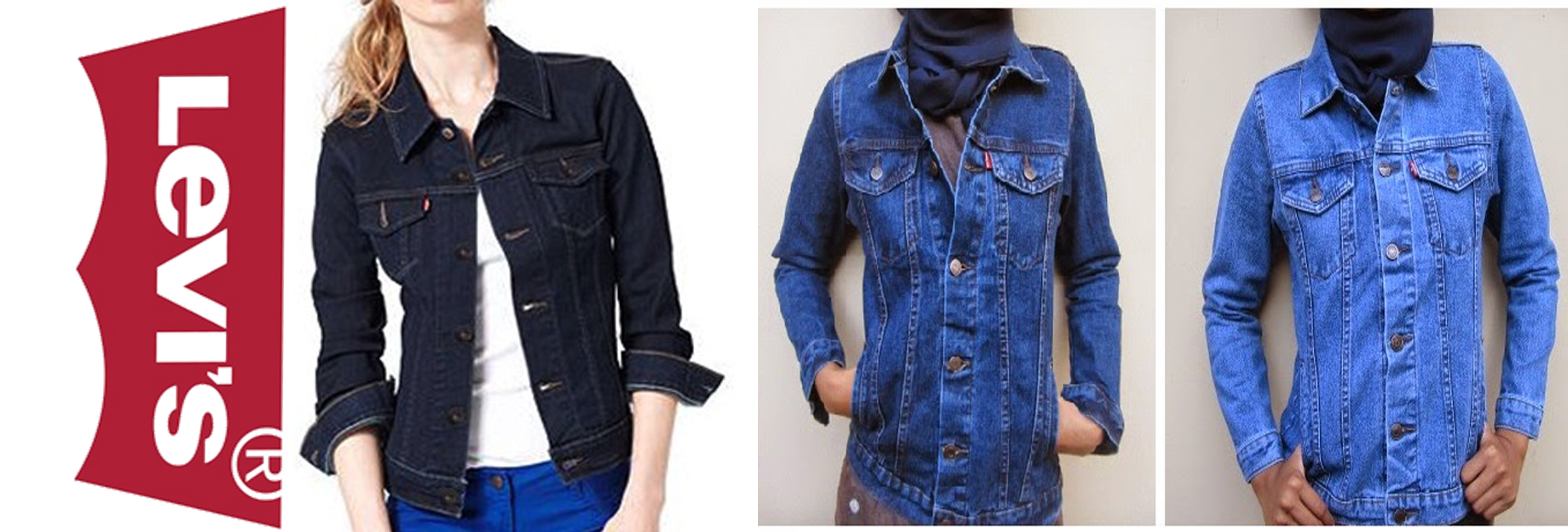 Jual Jaket Levis Wanita Trendy Keren Agus Jeans Collection88 Tokopedia