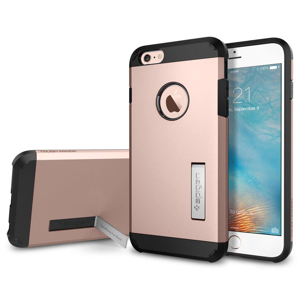 Spigen iPhone 6 Plus - 6S Plus Case Tough Armor - Rose Gold