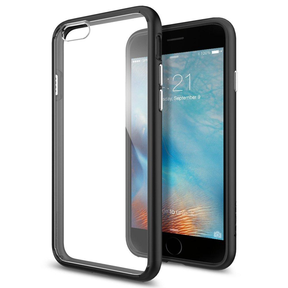Spigen iPhone 6 Plus - 6S Plus Case Ultra Hybrid - Black