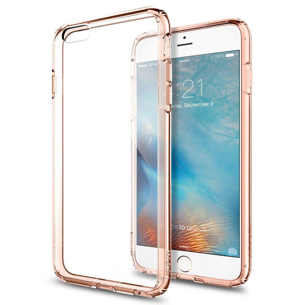 Spigen iPhone 6 Plus - 6S Plus Case Ultra Hybrid - Rose Crystal