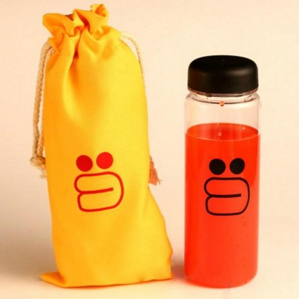 Botol Minum Karakter Line 500ml - Sally (Kuning)