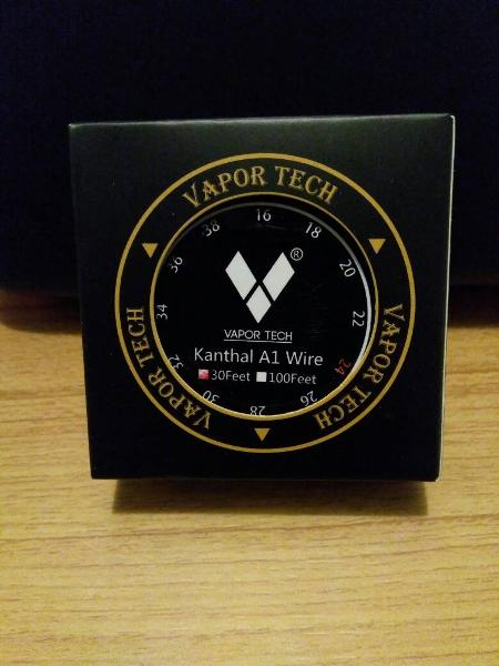 khantal vaportech wire A1 24awg - 30 feet Terlaris
