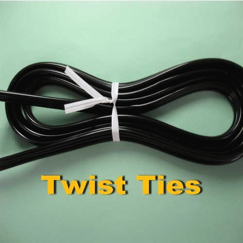 Pengikat Kabel / Twist Tie 100 meter Warna Hitam Merk MONSTER