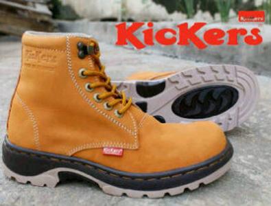 Jual semi boots pria sepatu kickers - Sepatu Pria Branded  b1a42f7e3f