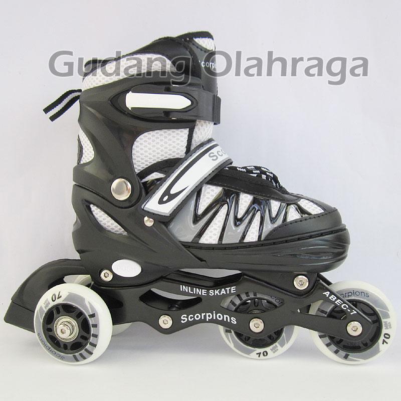 Jual Sepatu Roda BAJAJ Ban KARET Inline Skate PU Wheels