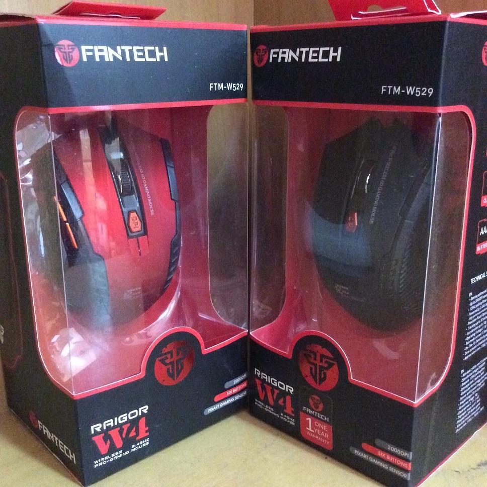 Fantech Raigor W4 Gaming Wireless Mouse Daftar Harga Terlengkap  Jual 24ghz Alvaro Komputer Tokopedia