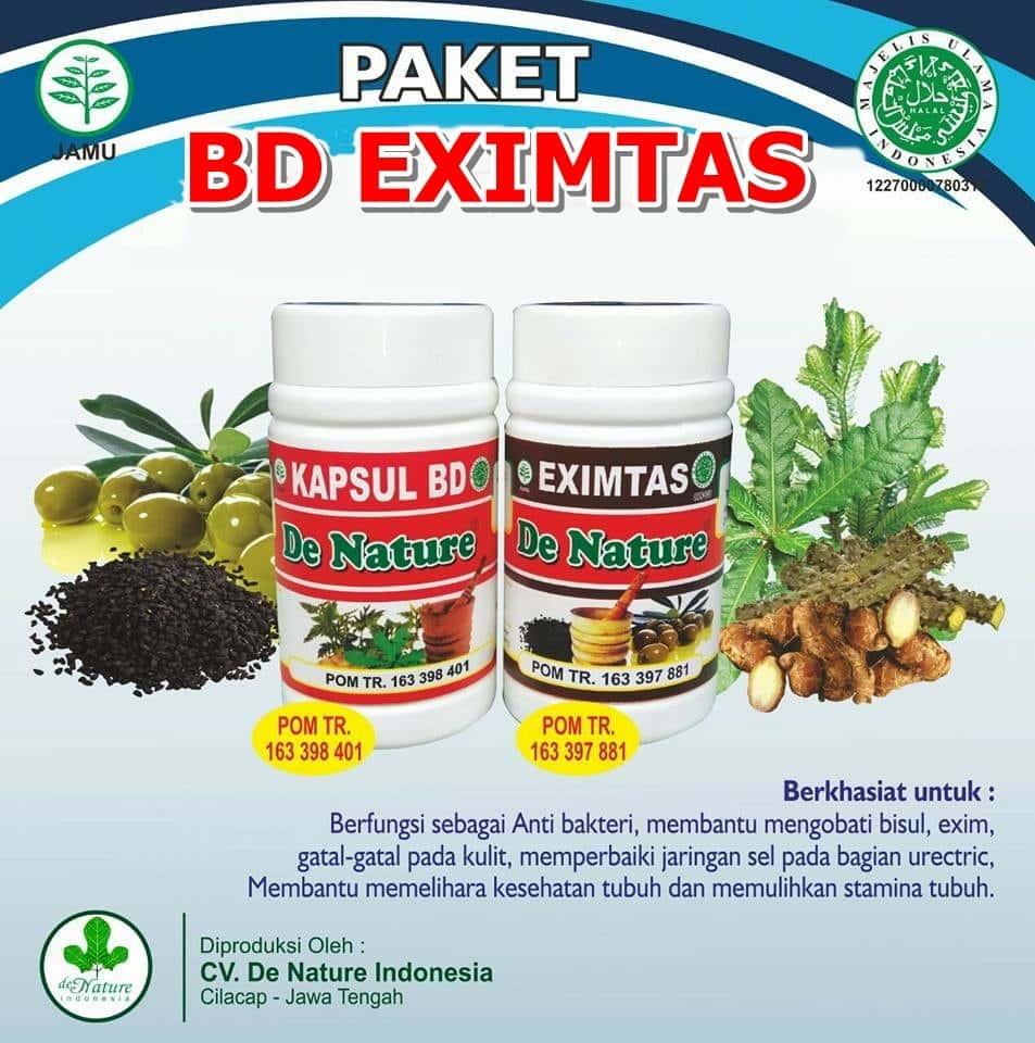 Kapsul Bersih Darah dan Salep Exclear Herbal de Nature