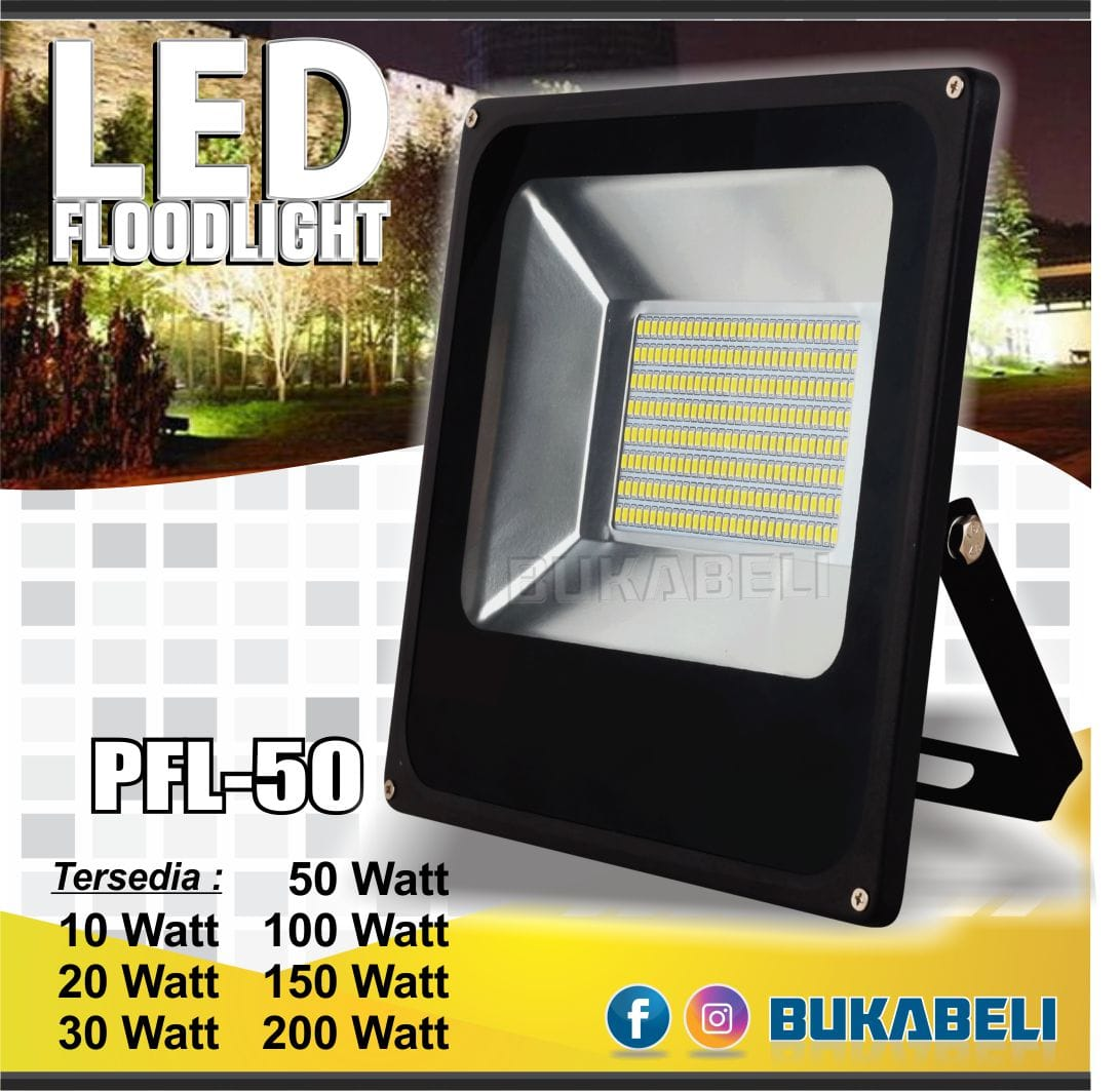 LED Flood Light - Lampu Sorot Led - lampu tembak 20W IP65 SMD