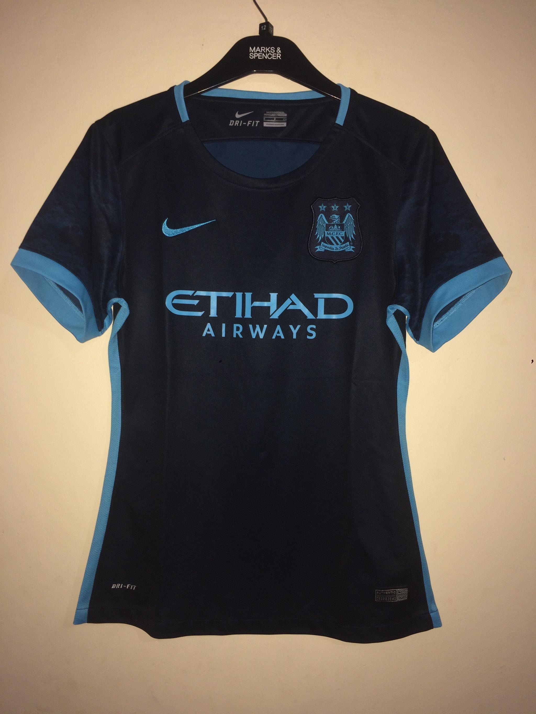 5b6a20225 PENAWARAN jersey ladies original manchester city away 20 1516